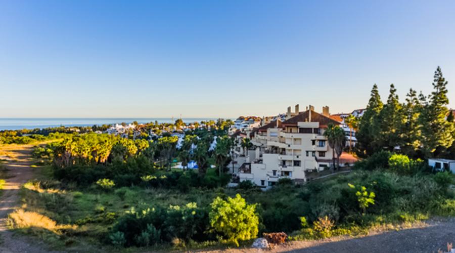 Villa plots with sea views
