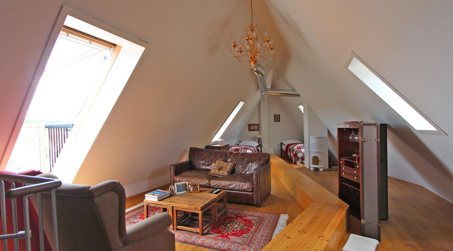 Penthouse for commercial or residential use
