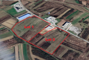 Industrial land for sale 81.400 m2 - 1.790.000 EUR
