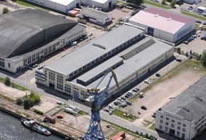 Industrial hall in a prime location at the west port of Wismar