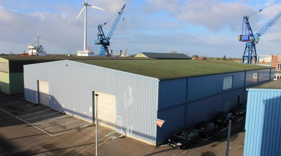 Production Site at the Port of Husum