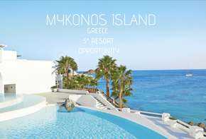 5* Mykonos Island Development Opportunity