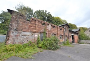 4000 m² property  in a former factory area
