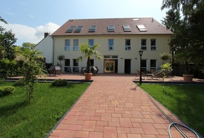 Operator property - barrier-free new building with a large garden