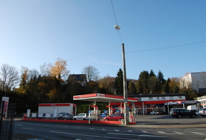 Petrol Station with Mechanic Shop and Apartments