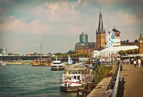 Capital investment in Düsseldorf's old town