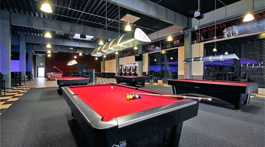 Modern Bowling Center with Event Area