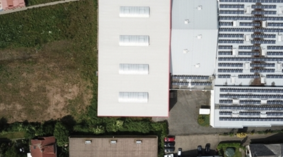 Commercial property with development land
