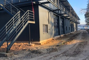 Attractive Storage Facility - New building with 12 rentals for warehouse & office