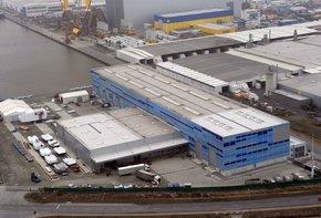 Warehouse and Production Facility at the Port