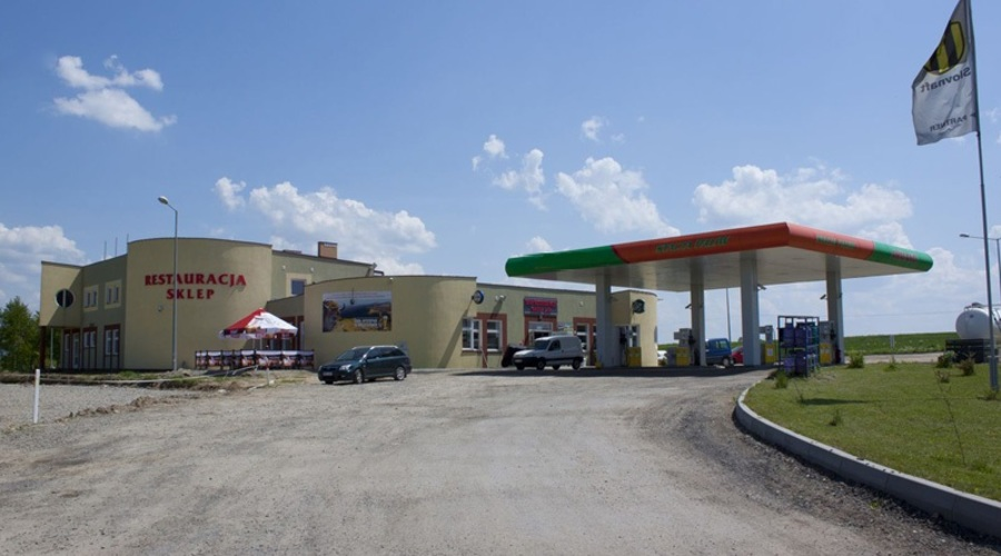 Petrol Station/Highway Rest Stop