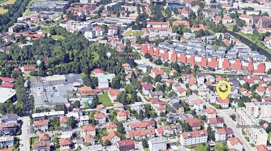Student Co-living House in Ljubljana