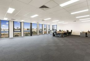 Corporate property with single tenant