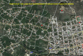 Land ideal for a complex of several maisonettes in the realm of King Leonidas
