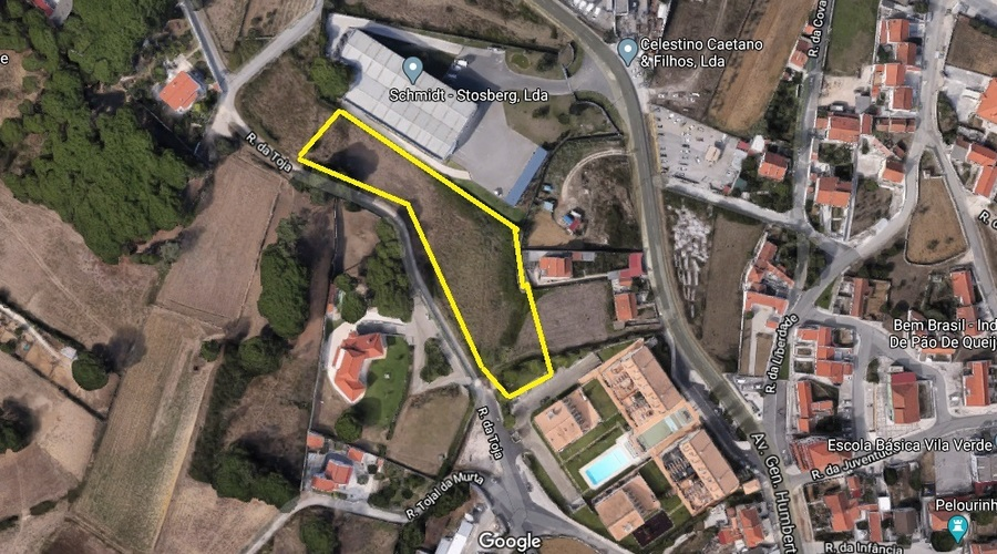 Land for Villa construction in Sintra-Portugal