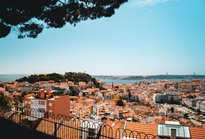 Retail Park in Beja, Portugal