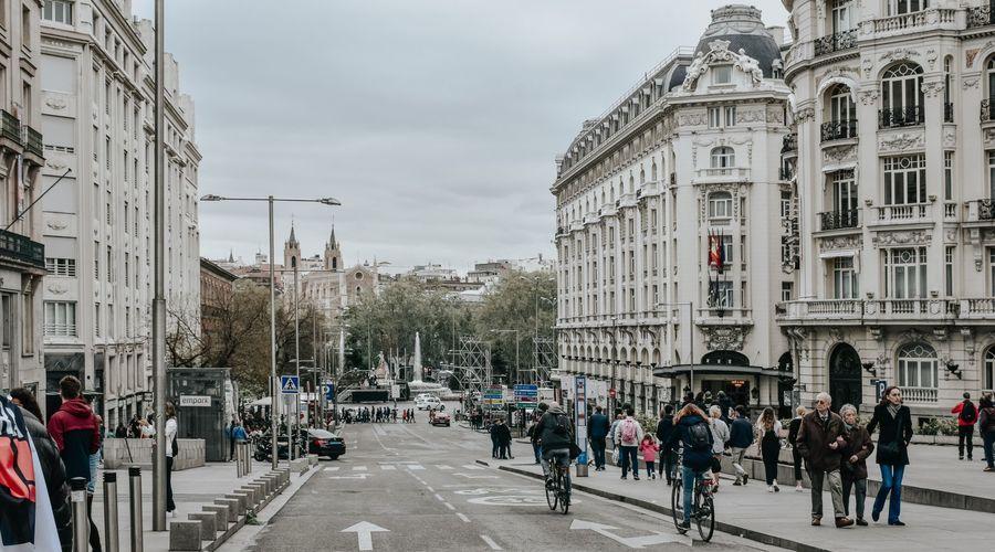 Lot of 5 residential buildings in Madrid