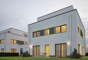 10 plots including single-family houses in the shell with finished project planning