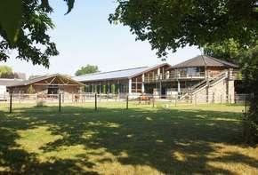 Modern horse center