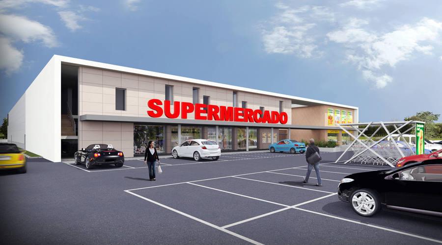 Stand-Alone Supermarket