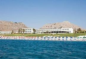 Hotel resort with 400 meters of beach