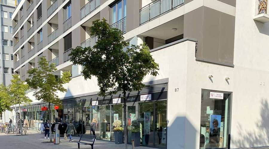 Fully let commercial property