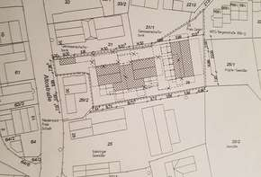 Large building plot in the heart of Aubing