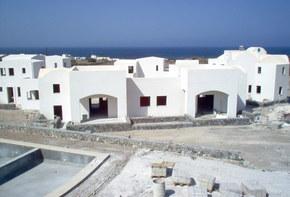 Luxury Villas complex in Oia, Santorini