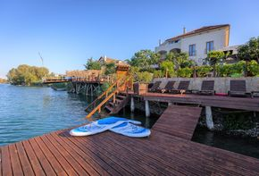 Beautiful private beach resort with Wellness