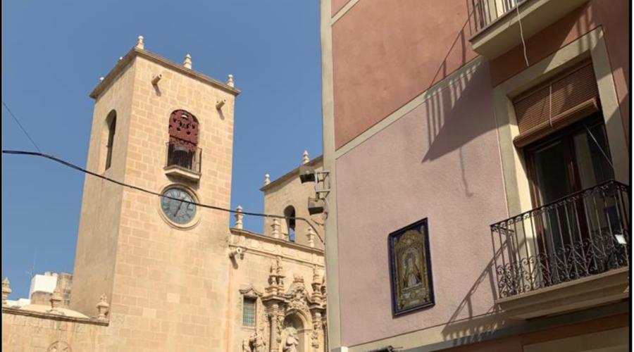 Hotel in the historic center of Alicante