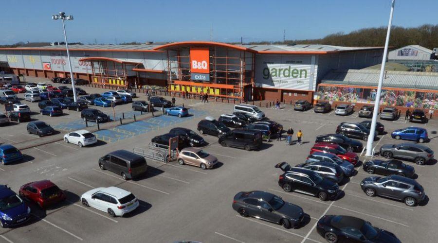 Retail park for sale