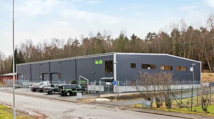 Industrial property in Gothenburg, Sweden