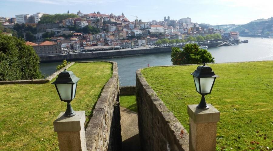 Set of buildings in Porto, Portugal