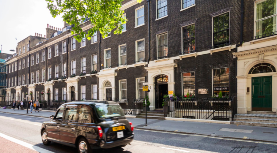 Boutique hotel in London