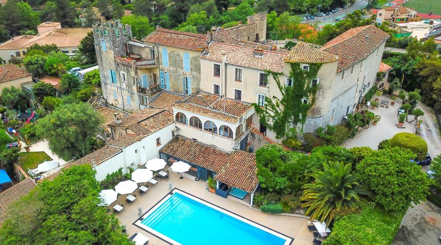 SMALL CHARMING STONE ABBEY *** HOTEL CLOSE TO NICE (FRENCH RIVIERA)