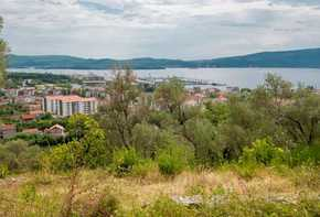 Tivat - Plot for four villas overlooking Porto Montenegro