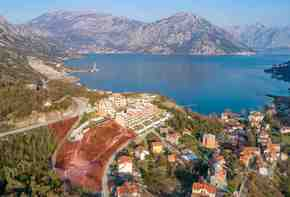 Montenegro, Kotor bay - Development plot in Morinj near residential complex