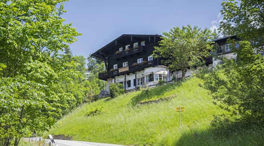 Unique hotel with views to the alps