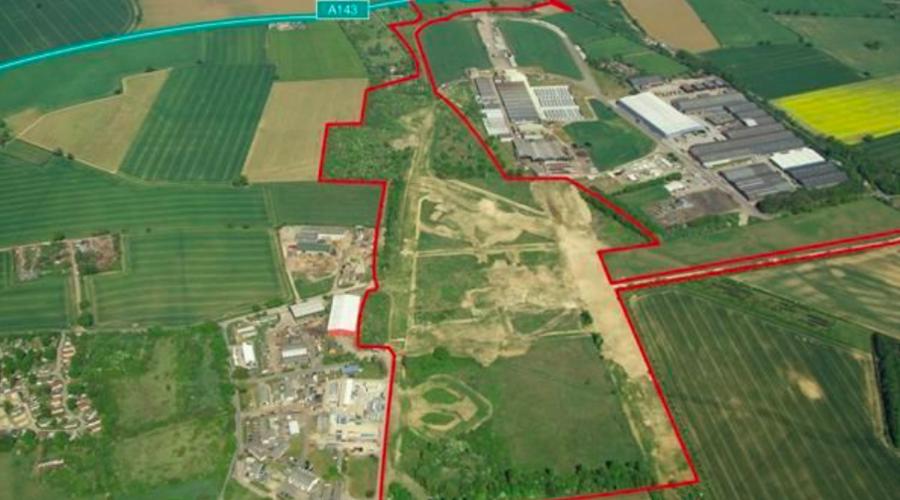 Development land at Stanton, Suffolk, UK