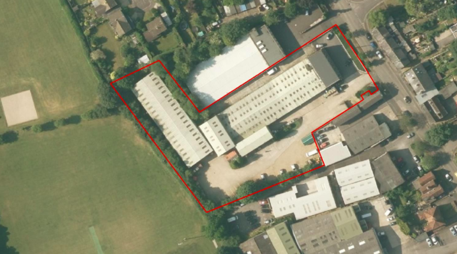 Development opportunity for 10 houses and 35 apartments in Southampton, UK